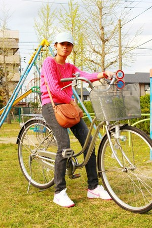 Uniqlo jeans - Penshoppe hat - H&M sweater - timex watch - nike sneakers