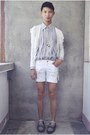 Urban-outfitters-shoes-solo-shirt-forever-21-shorts-max-cardigan