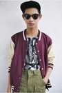 Brick-red-topman-jacket-heather-gray-gifi-clothing-top