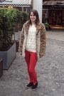 Mustard-motel-coat-red-zara-jeans-cream-asos-jumper