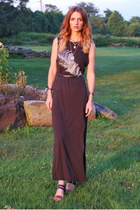dark gray Avalove dress