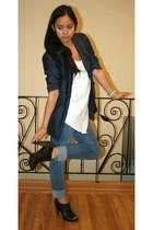 Roberto Viannii shoes - Levis jeans