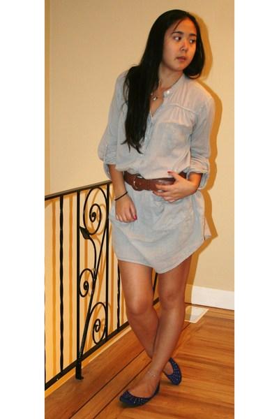 Zara dress - H&M belt - roberto vianni shoes