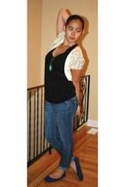 Ella Moss top - Aldo accessories - roberto vianni shorts - gift blazer