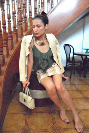 recycled DIY heels