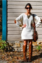 ivory sweater H&M dress