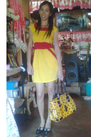 bag - shoes - dress