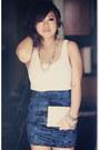 Velvet-forever-21-skirt-hearts-deux-lux-bag-mary-janes-forever-21-heels