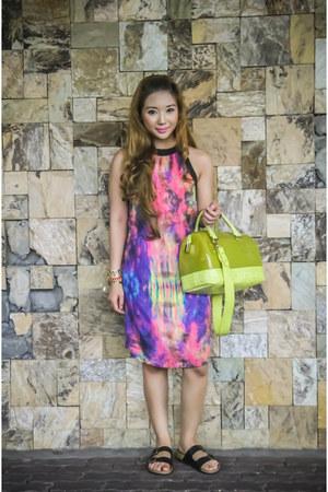 chartreuse Furla bag