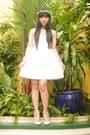 Zara-dress-gucci-bag-anagon-hair-accessory-rockstud-heels