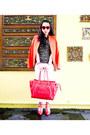 Ivory-zara-jeans-carrot-orange-zara-blazer-red-celine-bag