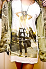 Army-green-zara-jacket-black-halves-hat-eggshell-zara-shirt-black-zara-bag