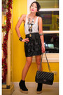 Black-zara-top-black-glitterati-skirt-black-chanel-bag-black-soule-phenome