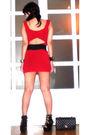 Red-details-dress-black-glitterati-belt-black-online-shoes-black-anthology