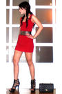 Red-details-dress-black-glitterati-belt-black-online-shoes-black-anthology