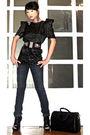 Black-details-boots-blue-mango-jeans-black-glitterati-belt-black-online-sh