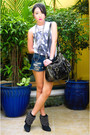 White-topshop-top-blue-forever21-shorts-navy-zara-boots-dark-gray-random-b