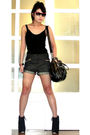 Black-topshop-boots-gray-glitterati-shorts-black-topshop-top-gray-forever-