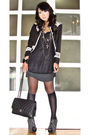Black-glitterati-blazer-black-zara-top-black-topshop-dress-black-zara-boot