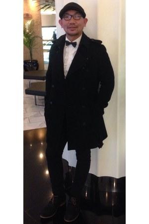 black jacket - black Cheap Monday pants