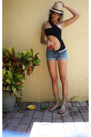 black monokini Target swimwear