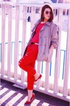 red BLANCO heels