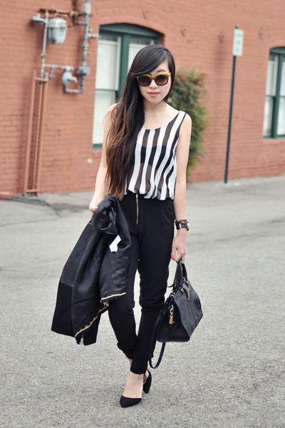 black Zara jacket