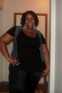 Black-old-navy-shirt-blue-old-navy-vest-black-torrid-leggings-black-torrid