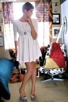 forwood Aldo wedges - H&M dress