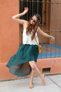 Mustard-bdg-purse-off-white-worn-as-top-forever-21-skirt