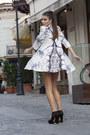 Pony-hair-ilpasso-boots-swing-dress-geeks-stitches-dress