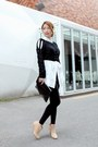 Neutral-ankle-boots-black-forever-21-leggings-white-stylenanda-shirt