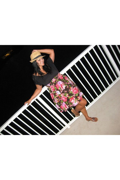 Target dress - Candies hat - Forever 21 shoes