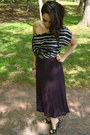 Vintage-top-urban-outfitters-skirt-nine-west-heels