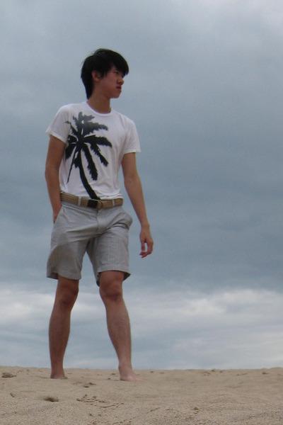 I made it t-shirt - JCrew shorts - JCrew belt