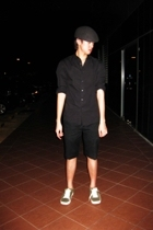 Topman shirt - Giordano Concepts shorts - Zara hat - Puma shoes