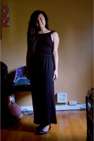 black viscose American Apparel dress