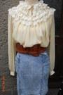 Vintage-70s-blouse-italian-vintage-80s-stonewashed-skirt-80s-belt