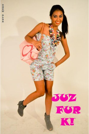 JUZ FUR K - bubble gum JUZ FUR K - TRENDY OPTIONS necklace