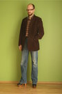 Oversized-hilfiger-denim-jeans-brown-velvet-baltman-jacket