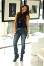 Black-charlotte-russe-boots-levis-jeans-navy-roxy-belt-trappings-cebu-neck