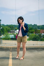 Hot-pink-steve-madden-purse-navy-old-navy-jacket-pink-comme-toi-shirt