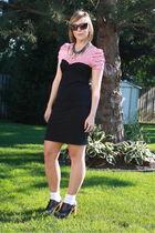 H&M top - American Apparel dress - Forever 21 sunglasses - Jeffrey Campbell shoe