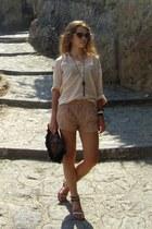 Chronotech watch - Zara shirt - Forever 21 shorts - Miu Miu sunglasses
