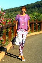 Gucci sunglasses - Forever 21 t-shirt - H&M pants