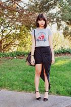 brown love Mimi Boutique bracelet - black studded Mimi Boutique bag