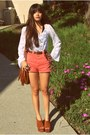Brown-fringe-h-m-bag-coral-american-apparel-shorts-white-lace-hardcouture-to