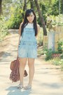 Sky-blue-denim-romper