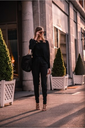 Zara bag - asos pants