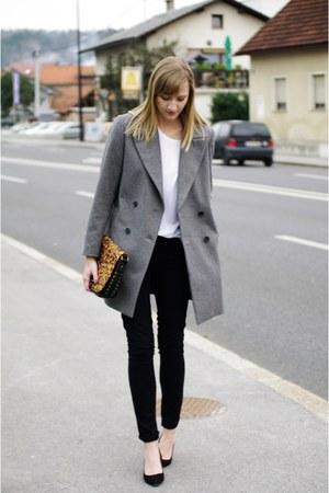 Zara coat - Primark heels